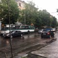 ДТП на Київській у Житомирі зупинила рух тролейбусів. ФОТО
