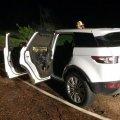 На Житомирщині під час руху загорівся Land Rover
