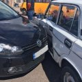 На проспекті Незалежності у Житомирі ВАЗ в'їхав у Volkswagen