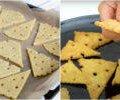 Рецепт смачних сирних крекерів