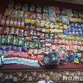 У Житомирській області злодії винесли з магазину гроші, продукти та засоби гігієни. ФОТО