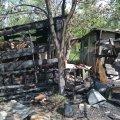 Неподалік Житомира, на дачному масиві, вогонь знищив дві будівлі. ФОТО