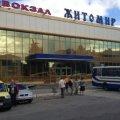Центральний автовокзал Житомира відновив роботу