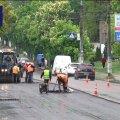 У Житомирі почали ремонтувати дорогу на вулиці Чуднівській та Леха Качинського
