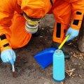 На Житомирщині жінка знайшла на подвір'ї розкидану ртуть