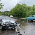 На трасі поблизу Денишів Житомирського району в лобову зіштовхнулись Ланос і ВАЗ: водії отримали травми
