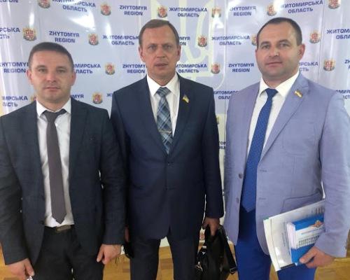 Радикальна партія на Житомирщині: