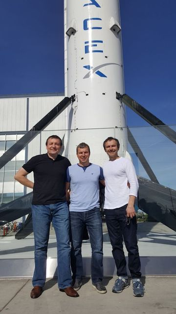 Житомирянин помог Илону Маску запустить в космос Crew Dragon. ФОТО