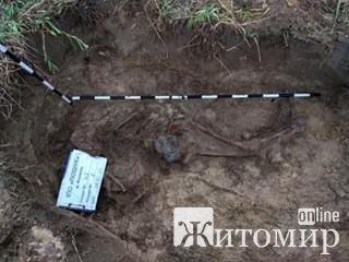 В останній весняний день на Житомирщині пошуківці віднайшли рештки солдата і його медальйон. ФОТО