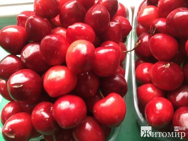У Житомирі вже продають мелітопольські черешні. ФОТО