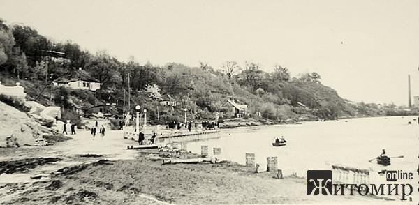 Назад в прошлое: левый берег Тетерева в Житомире. ФОТО