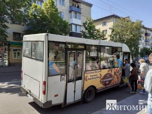 Чи знає перевізник та водії 11 маршруту, що в країні і Житомирі карантин? ФОТО