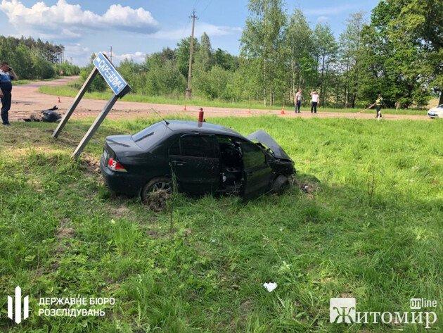 Смертельна ДТП на Житомирщині: За кермом легковика був поліцейський. ФОТО