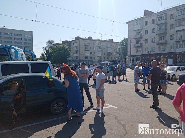 Житомирські атошники їдуть до Кам'янки, щоб керівництво області їх почуло. ФОТО