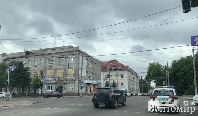 У центрі Житомира не працюють світлофори. ФОТО