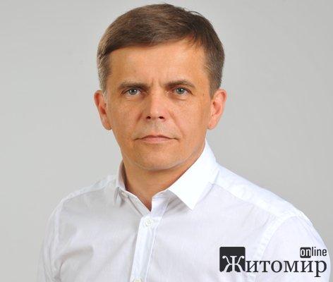 Мер Житомира Сергій Сухомлин сьогодні святкує свій День народження