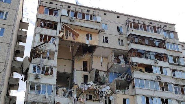 Вибух будинку в Києві: очевидці розповіли моторошні подробиці. ВІДЕО