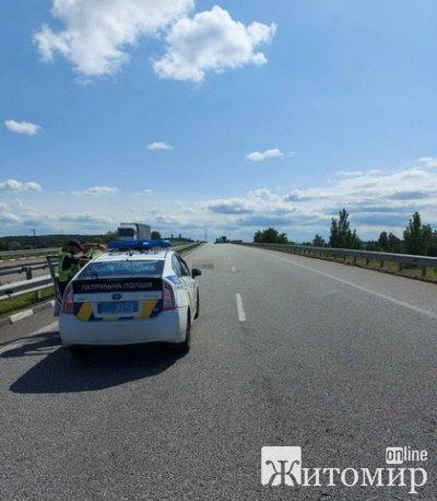 На трасі у Житомирській області на смерть розбився 20-річний мотоцикліст