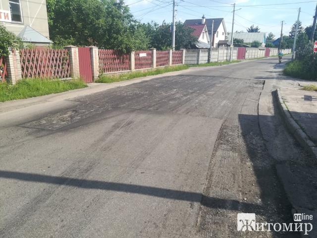 У Житомирі взялися ремонтувати вулицю Миру. ФОТО