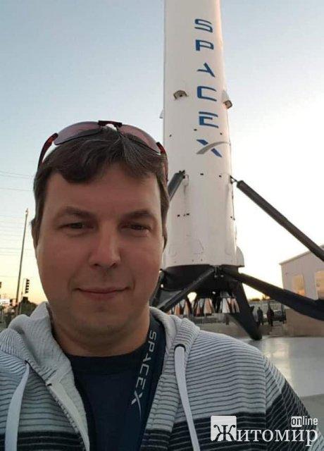 Уродженець Житомира відіграв важливу роль для SpaceX