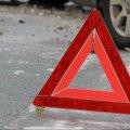 """У Житомирі біля ринку """"Хмільники"""" автомобіль збив пішохода. ВІДЕО"""