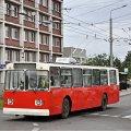 У центрі Житомира обірвався тролейбусний дріт. Утворився затор