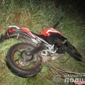 У Житомирській області Volkswagen виїжджав з АЗС і збив 20-річного мотоцикліста