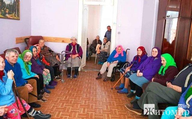 Неподалік Житомира може закритися будинок, де перебувають люди похилого віку та тримають хазяйство. ФОТО