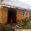 В Бердичеві загорілася лазня: двох людей травмовано. ФОТО з місця події