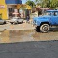 Ремонтні роботи в Житомирі на вулиці Хлібній. ФОТО