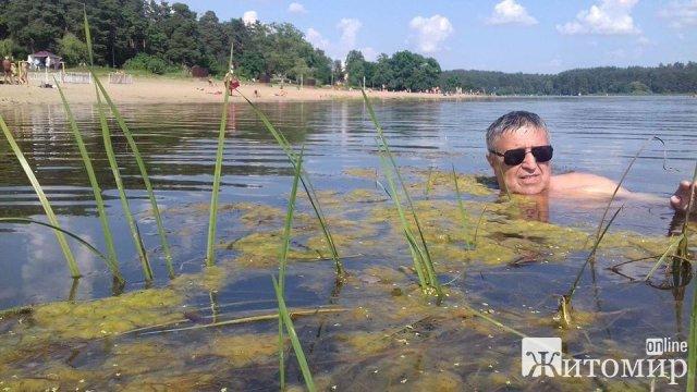 У житомирському гідропарку неможливо купатися: річка Тетерів - брудна. ФОТО