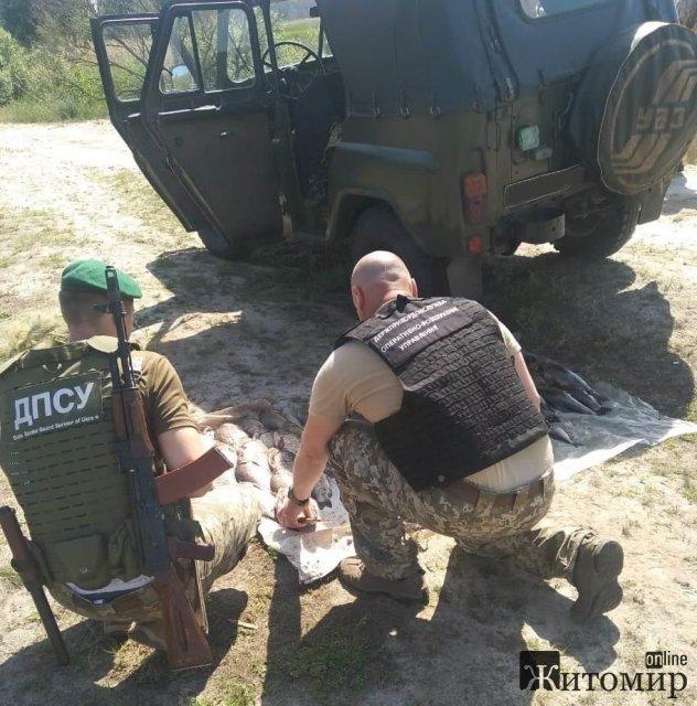 На річці Тетерів житомирські прикордонники виявили дует браконьєрів. ФОТО