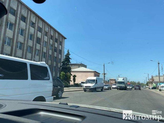 Житомир зупинився в заторах. ФОТО