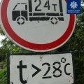 На Житомирщині введено обмеження руху великовагового транспорту