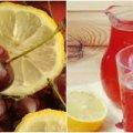 Освіжаючий та смачний вишневий лимонад. Гарний та простий рецепт