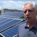 У Житомирі місцевий житель облаштував сонячну електростанцію на даху багатоповерхівки
