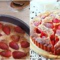 Шарлотка з полуницею. Пиріг за цим рецептом виходить ніжний та смачний