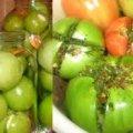 Фаршировані зелені помідори. Смачна закуска до будь-якого столу