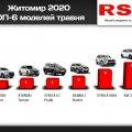 Житомиряни за місяць купили нових авто на 2 млн доларів