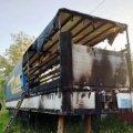 На Житомирщині горіли гараж з автомобілем та вантажівка