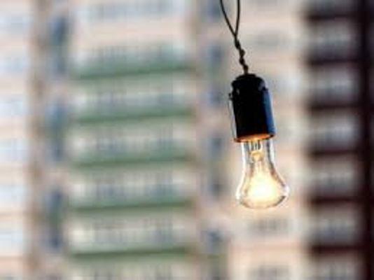 В центрі Житомирі немає світла