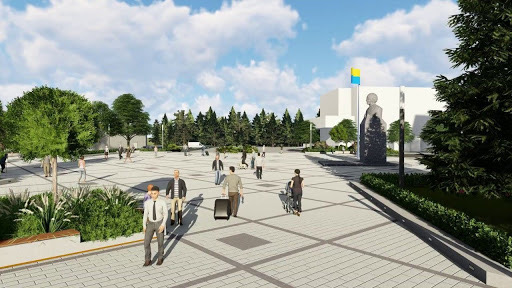 Під час реконструкції бульвару у Житомирі висадять понад 800 нових дерев