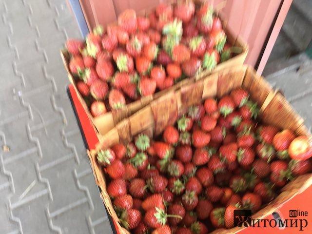 Скільки сьогодні коштують полуниці у Житомирі? ФОТО