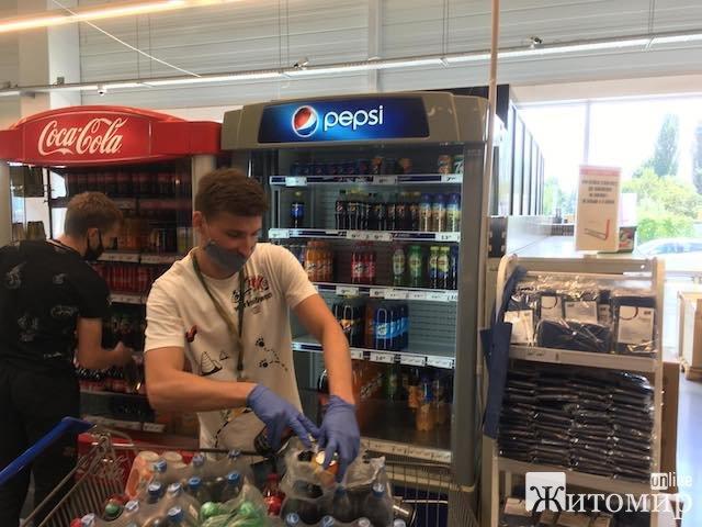 У Житомирі у продажу з'явився новий напій