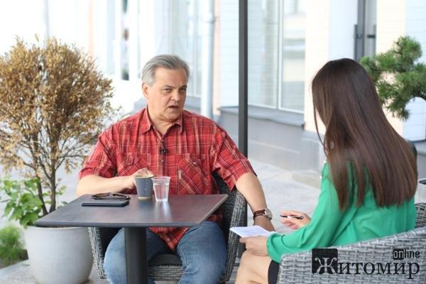 На Житомирщину завітав відомий журналіст, нардеп від «Голосу» Сергій Рахманін