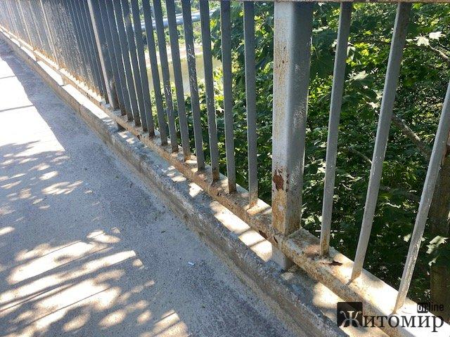 Як зараз виглядає житомирська набережна під мостом. ФОТО