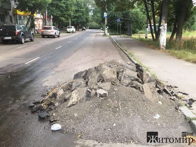 Цієї ночі на вулиці Дмитра Донцова у Житомирі може трапитись трагедія. ФОТО