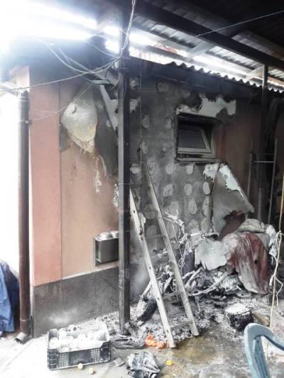 На Житомирщині через дитячі пустощі з вогнем згоріли порося і кролі