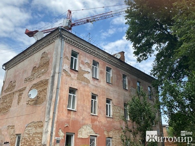 Що робиться на скандальному будівництві торгівельного центру на Київській у Житомирі? ФОТО