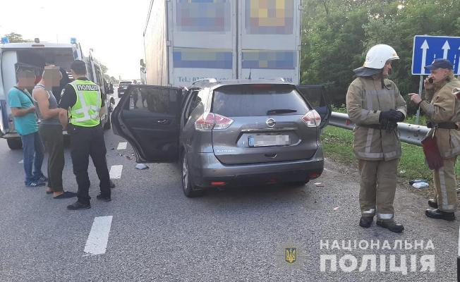 Внаслідок ДТП на Житомирщині 1-річного хлопчика та його маму забрали до лікарні